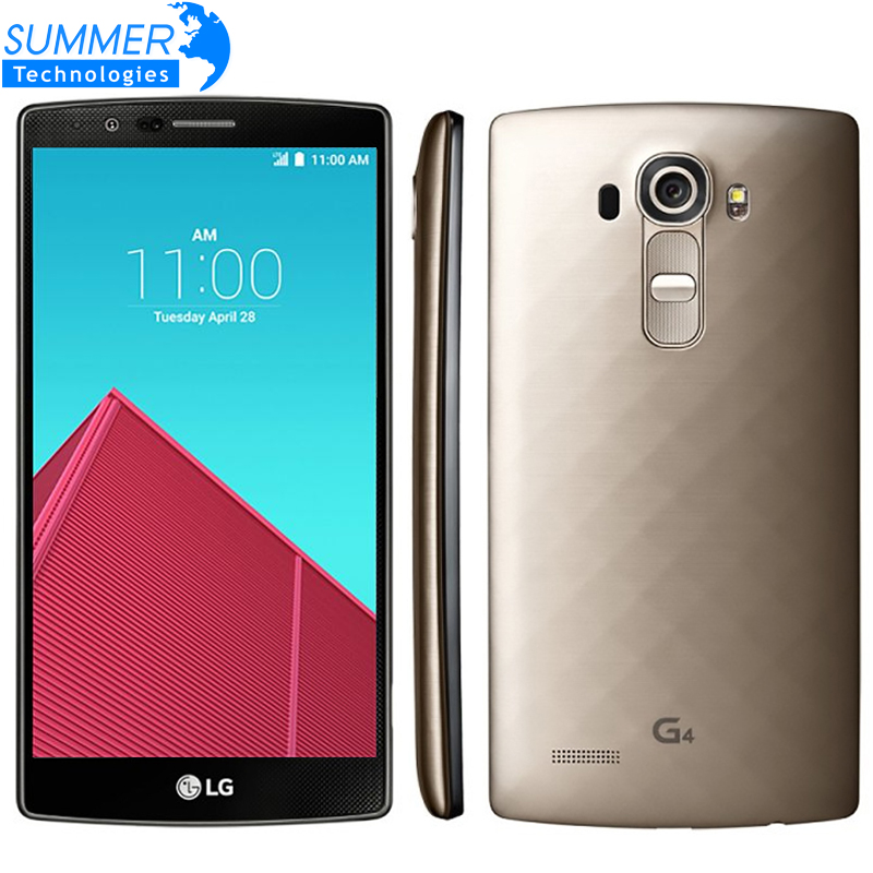 Original Used Unlocked LG G4 MobilePhone 3G RAM 32G ROM Hexa Core 16MP Camera 5.5 inch Touch Screen H815 H810 SmartPhone