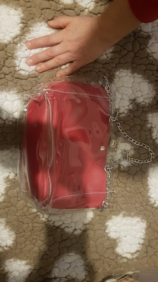 DCOS Women Small Bucket Bags Plastic Transparent Totes Composite Chain Bag Female Mini Jelly Handbags photo review