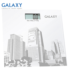 Весы напольные Galaxy GL 4803 (Предел 180 кг, шаг измерения 100 г, ЖК-дисплей, стекло, автовыключение)