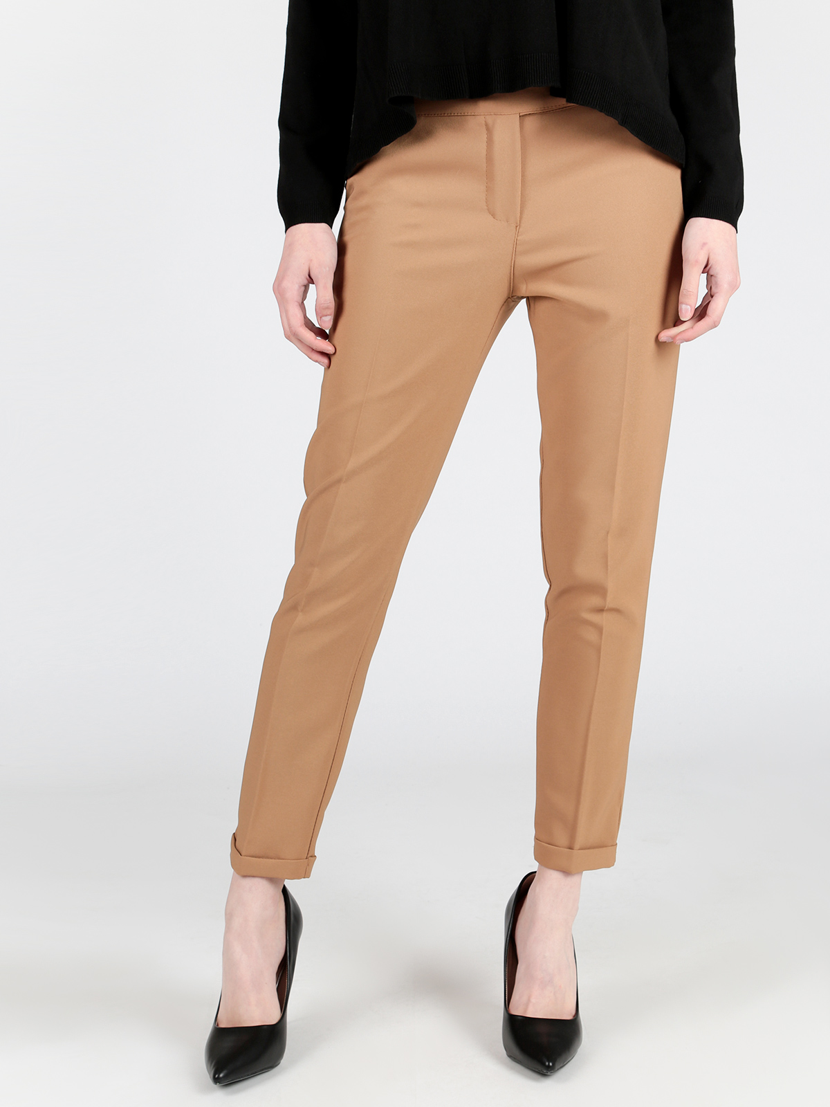 Spring Matching Slim Pencil Pants Casual Pants