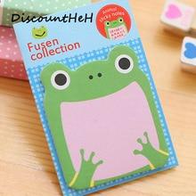Фотография 1Pcs Cartoon Animals Memo Pad Paper Sticky Notes Post It Notepad Kawaii Stationery Papeleria School Supplies