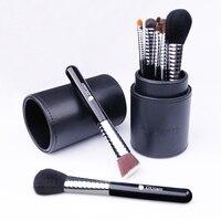 DUcare 11PCS Premiuim Makeup Brush Set High Quality Soft Synthetic and Pony Hair Professional Makeup Artist Brush Tool Kit