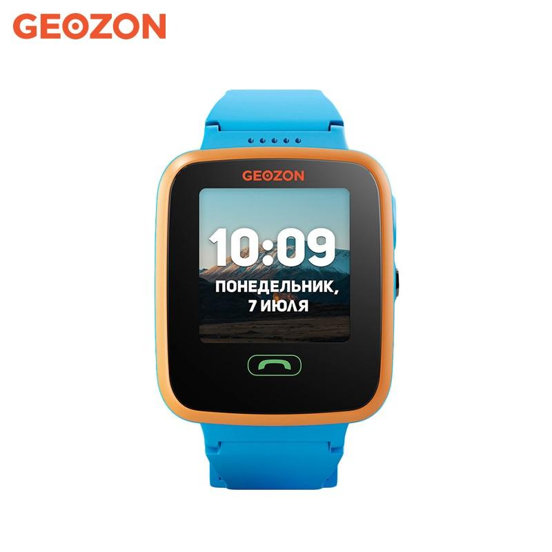 Smart Watch GEOZON Aqua laopijiang pebble time steel smart wearable watch with carbon fiber 22mm waterproof watch strap