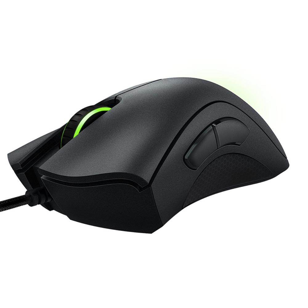 100 Original Razer DeathAdder Essential Wired Mouse Professional Grade Gaming Mouse 6400DPI Optical Sensor Mice for