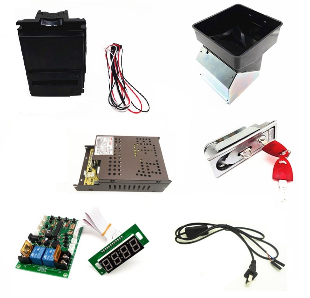 цена на 1 kit of 110V 220V multi banknotes bill acceptor to coin token with JY-142 control board for coin changer machine