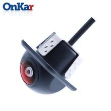 ONKAR car backup camera parking rear view reversing image HD for car head unit universal waterproof camera reverse CCD