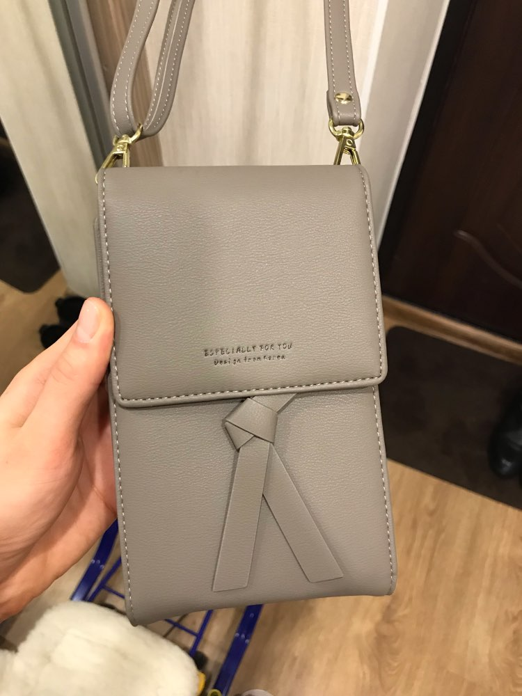 Luxury Brand Women's Wallets and Purses Small Shoulder Bag Casual Long Purse Women Phone Wallet Card Holder Ladies Purse photo review