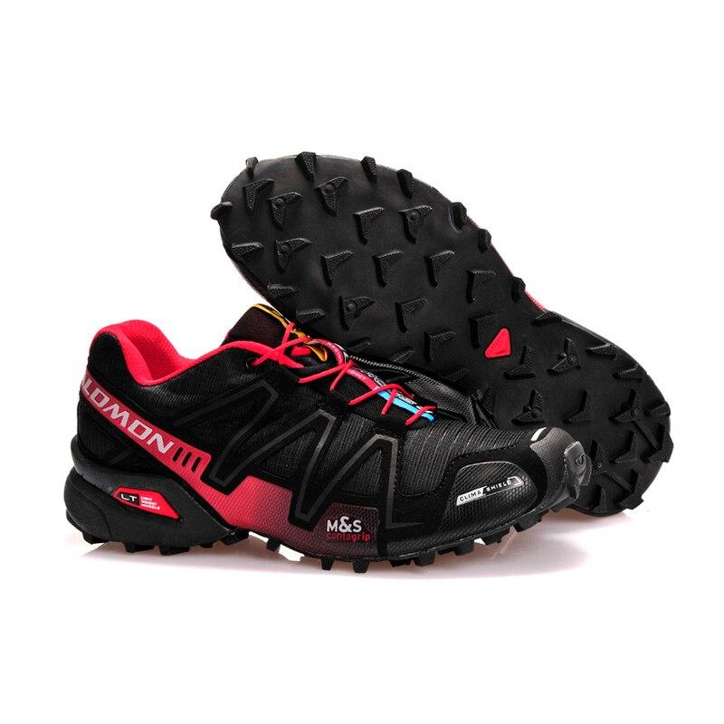 2018 Nouveau Salomon Speed Cross 3 CS III Sports de Plein Air Chaussures speed cross hommes noir rouge chaussures de course eur 40 -46