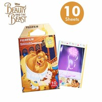 Limited Beauty And The Beast Fujifilm Instax Mini 8 Instant Film 10pcs Photo Paper ForCamera And