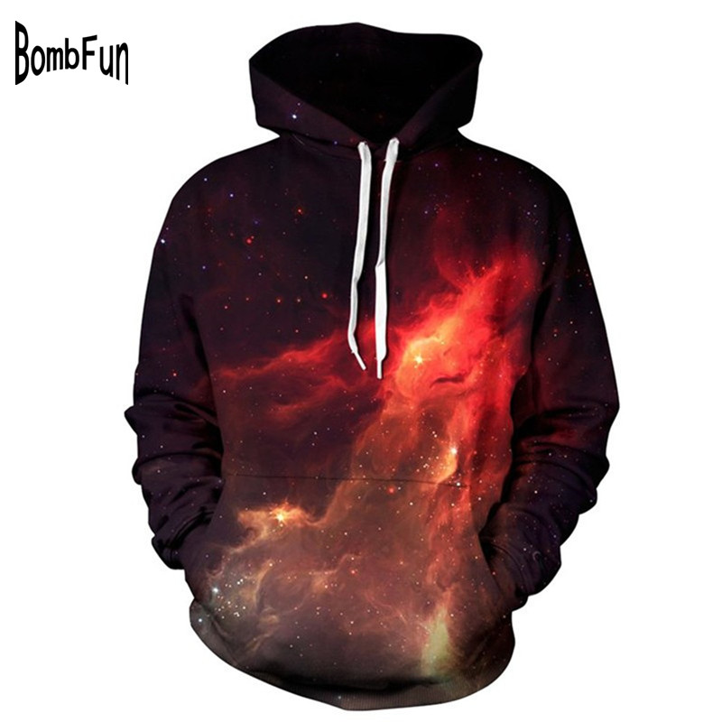 Heren & Dames Hoodies Galaxy Causale Stijl Sweatshirts 3D Print Fire Space Trainingspakken Paar Streetwear Hippop Motorfiets Jas Tops