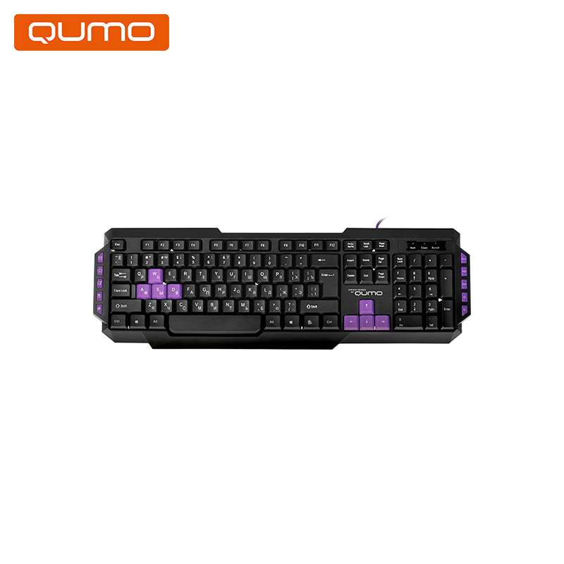 Gaming keyboard Qumo Desert Eagle Pro us layout keyboard for macbook pro 13 inch white us keyboard a1342 keyboard