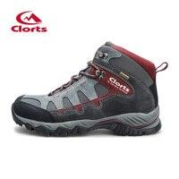 Clorts Autumn Winter High Cut Hiking Boots For Men Women Uneebtex Waterproof Hiking Shoes Non Slip
