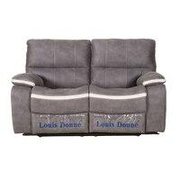 Луи Донн Классический Темно Серый Ткань Негабаритных Кресло Loveseat диван, ультра Комфортабельные Гостиная Стул Традиционный