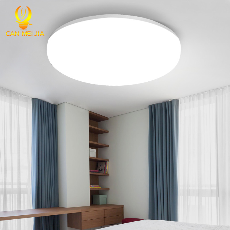 Led Panel Light 15W 50W LED Ceiling Lamp 220V Modern Surface Mounted Lights Round Ceiling Lamps For Indoor Home Kitchen Lighting