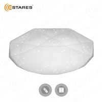 ESTARES Controlled LED Ceiling light ALMAZ 25W SHINY 220V IP44