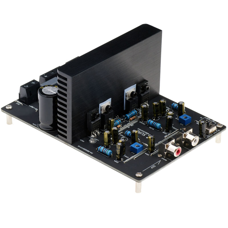 Assembly IRS2092 High power HIFI 250W+250W Dual Channel Class D Digital Power Amplifier Board