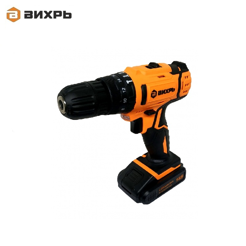 Cordless impact drill driver VIHR DA-18L-2KU Accumulator screwdriver Screw Battery-powered Hand