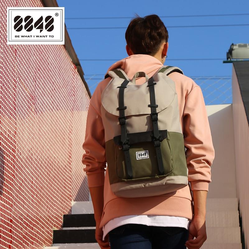 8848 Men Backpack School Bag For Male Travel Large Capacity 20 6 L Shoulder Bag Waterproof