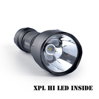 Convoy C8 XP L HI 100LM 7135 8 Integrated Head Long Range LED Flashlight Torch For