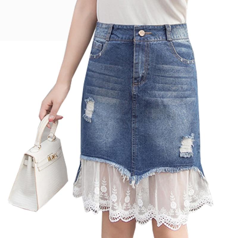 aliexpress buy summer denim skirts 2017 slim