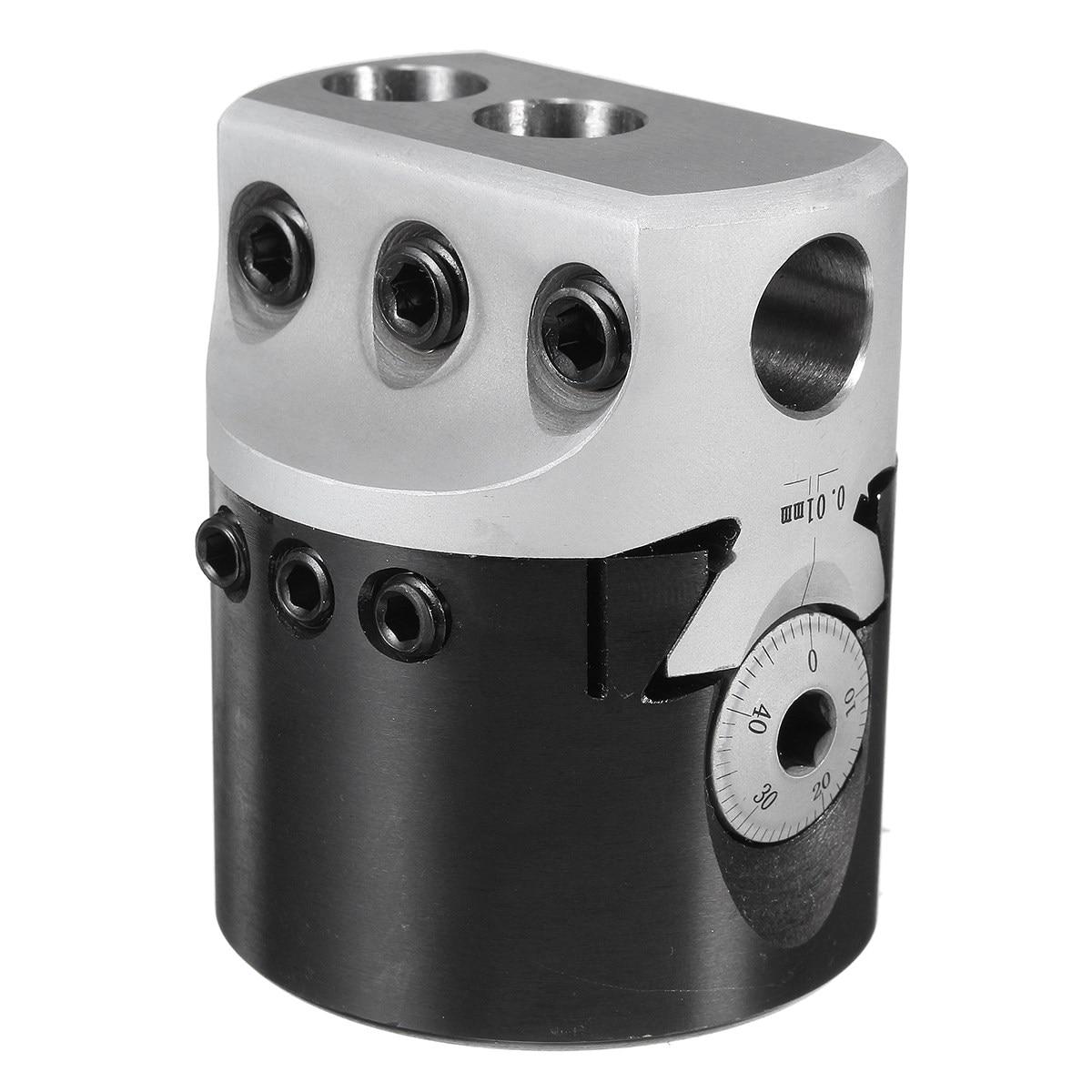 50mm Cabeça Chata F1 12 Diâmetro Para Fresagem Torno Chegada Nova Excelente Qualidade Com 3 t chave Durável em uso