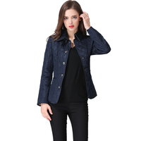 High Quality Euro style Women's Jackets 2017 Slim Jaqueta Feminina Solid Color Casacos Femininos M to 3XL
