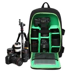 DSLR Waterproof Camera Backpack Bag Digital Photo Bag For Canon Nikon SONY Padded Mochilas Fotografia Cover Case Camera Backpack