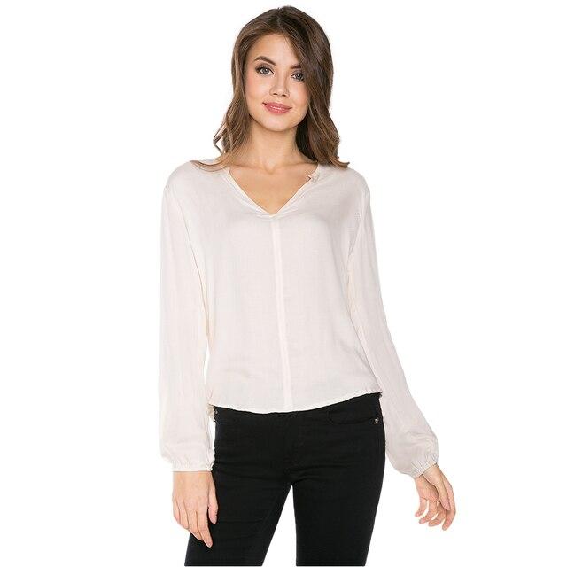 Блуза с удлиненной спинкой для девушки Gloria Jeans GBL002077