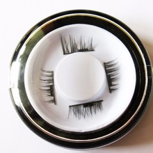 Permanent Magnetic Eyelash 4 Styles Mink Material Eyelashes Magnet 4 Pieces/ Box 3D Mink Cilia Individual Eyelash Extension kit