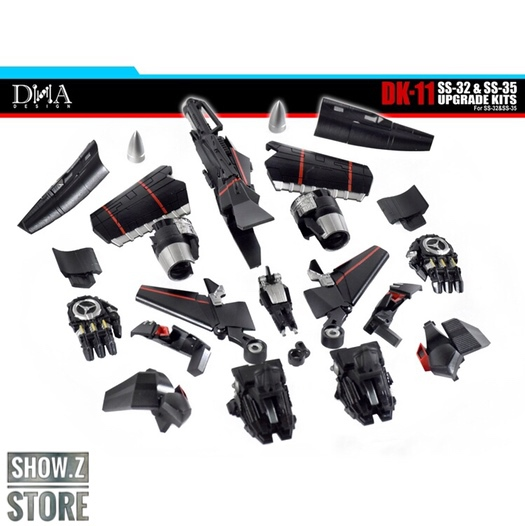 [Show.Z]DNA Design DK-11 DK11 Upgrade Kit For Studio Series Studio Series SS-32 SS32 OP SS-35 Jetfire Action Figure