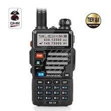 Baofeng RD-5R DMR Tier II VFO Digital Dual Band Dual Slot 136-174/400-470MHz Two way Radio Walkie Talkie Ham Transceiver