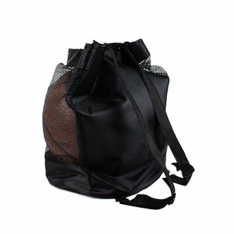 Esportes ao ar livre ombro sacos de bola de futebol acessórios de treinamento crianças voleibol saco de basquete