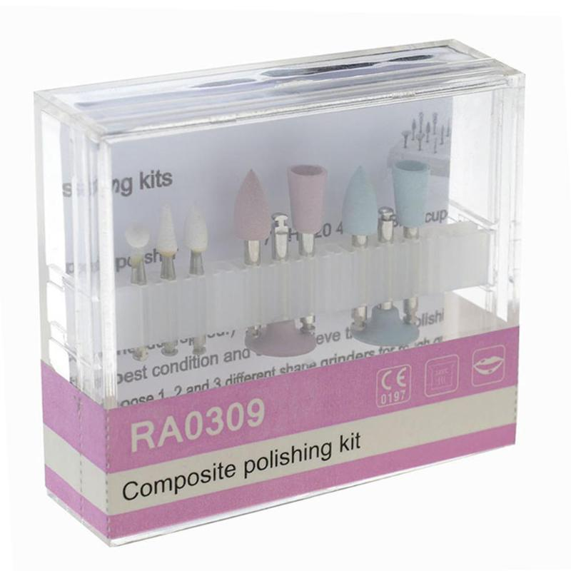 1 Pack Dental Composite Polishing For Low-Speed Handpiece Contra Angle Kit RA0309 Oral Hygiene Teeth Polishing Kits