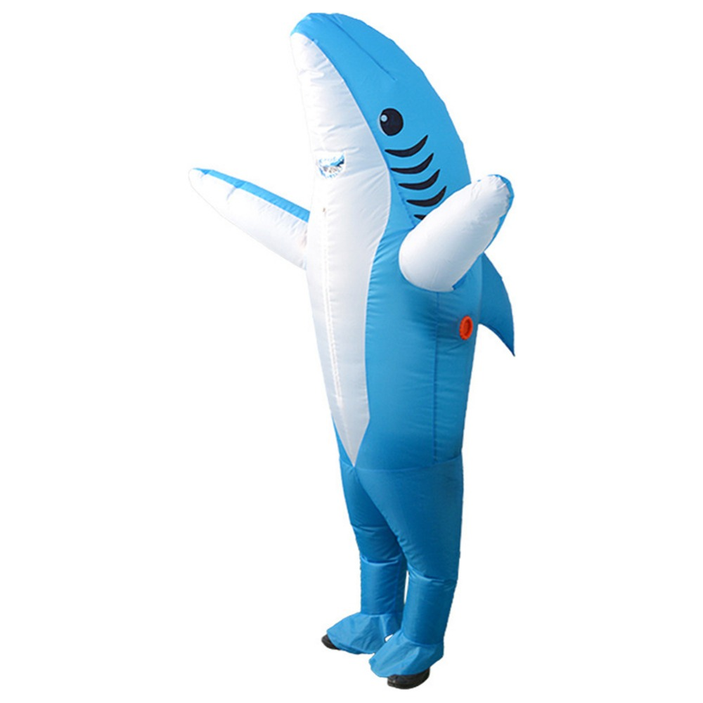 aliexpress : buy inflatable shark costume suit adults halloween