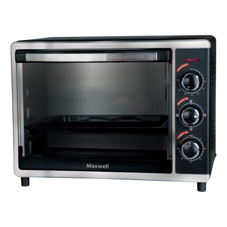 Mini oven Maxwell MW-1852 BK мини печь maxwell mw 1852 bk
