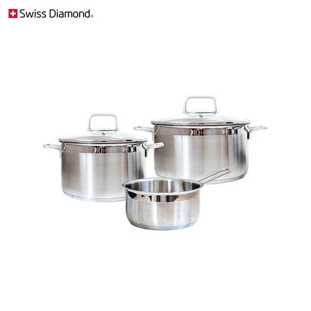 Набор посуды Swiss Diamond SD PS SET L3
