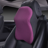 Space Memory Foam Car Neck Pillow Head Restraint Headrest Pillow Automobile