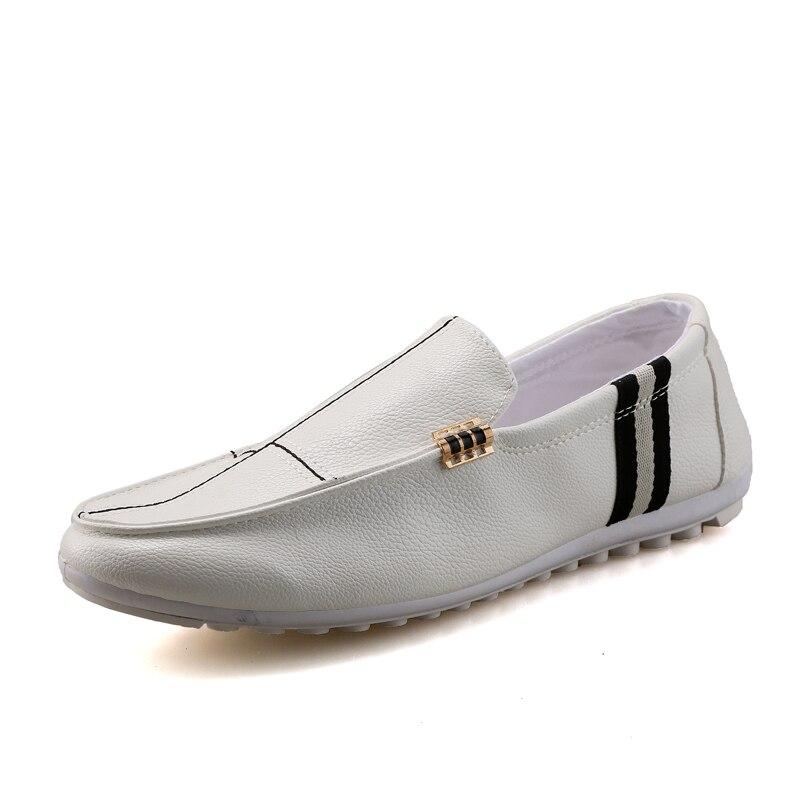 Peau Version Peu Les Coréenne Mis Simples Nouveau Casual Printemps Bouche  Pieds Hommes Profonde Conduite Pois 2018 De Chaussures ... 49fe5bce0188