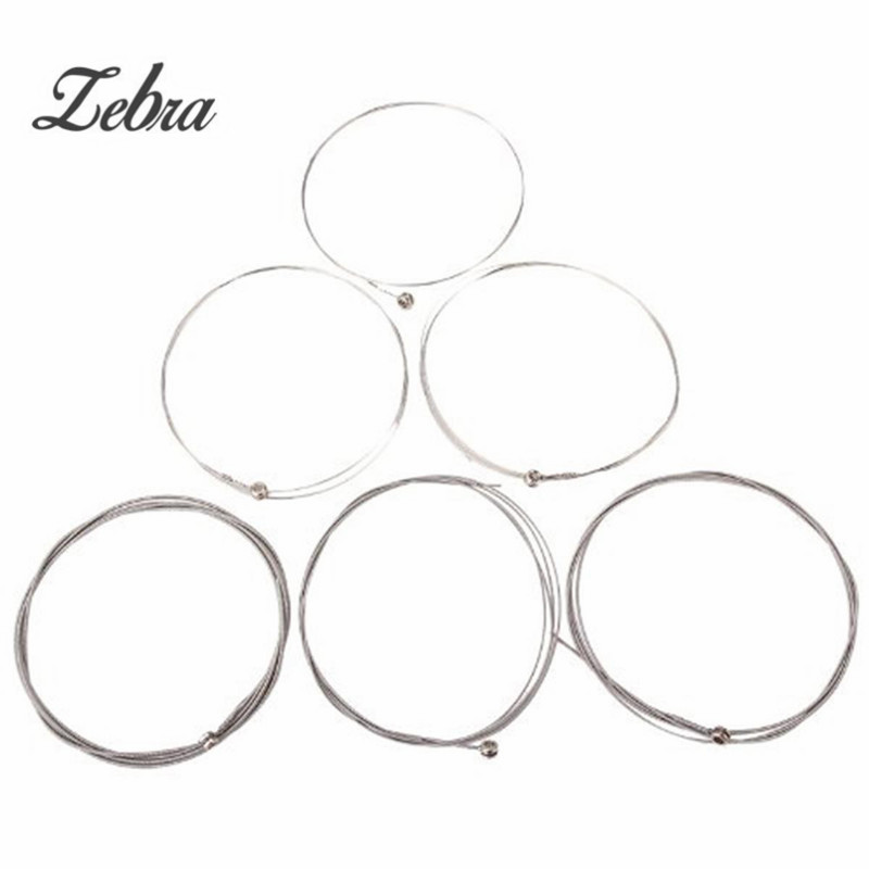 Set of 6 strings Electric Guitar String 150XL/.229mm Steel stringed instrument For Guitarra Bass Parts & Accessories a set chrome vintage shape saddle bridge for 5 string electric bass guitar top load or strings through body