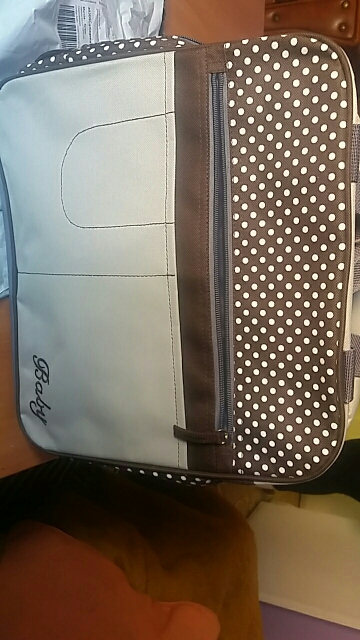 Stylish dot printing diaper bags Shoulder Messenger multifunctional mummy big stroller bag maternity handbag nappy baby bags