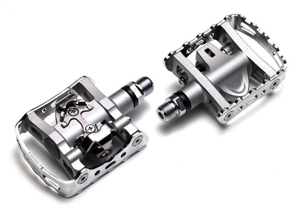 SHIMANO PD-M324 Multi Purpose SPD Pedals MTB Clipless Clip Touring Mountain M324 запчасть shimano проставки под шипы spd sh51 sh56