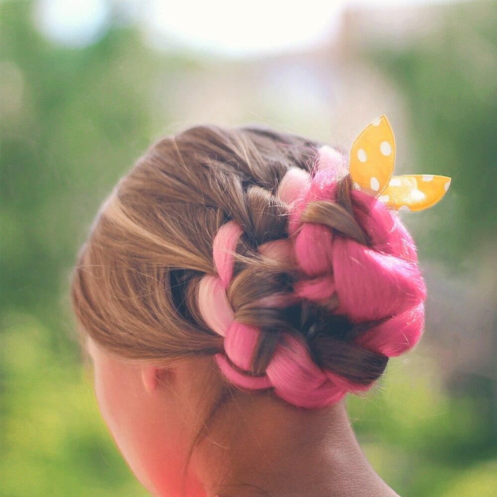 Цветные пряди для волос с Алиэкспресс