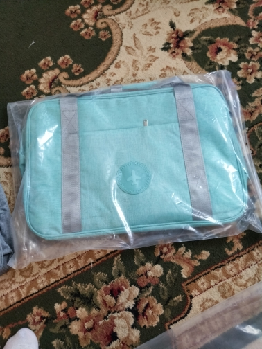 High Quality Fashion Folding Travel Bag Hand Luggage For Men And Women Duffle Bag fashion Travel bag 48*32*16cm photo review