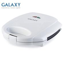 Сэндвич-тостер Galaxy GL 2954(мощность 800 Вт, индикаторы нагрева и сети, антипригарное покрытие, прорезиненные ножки