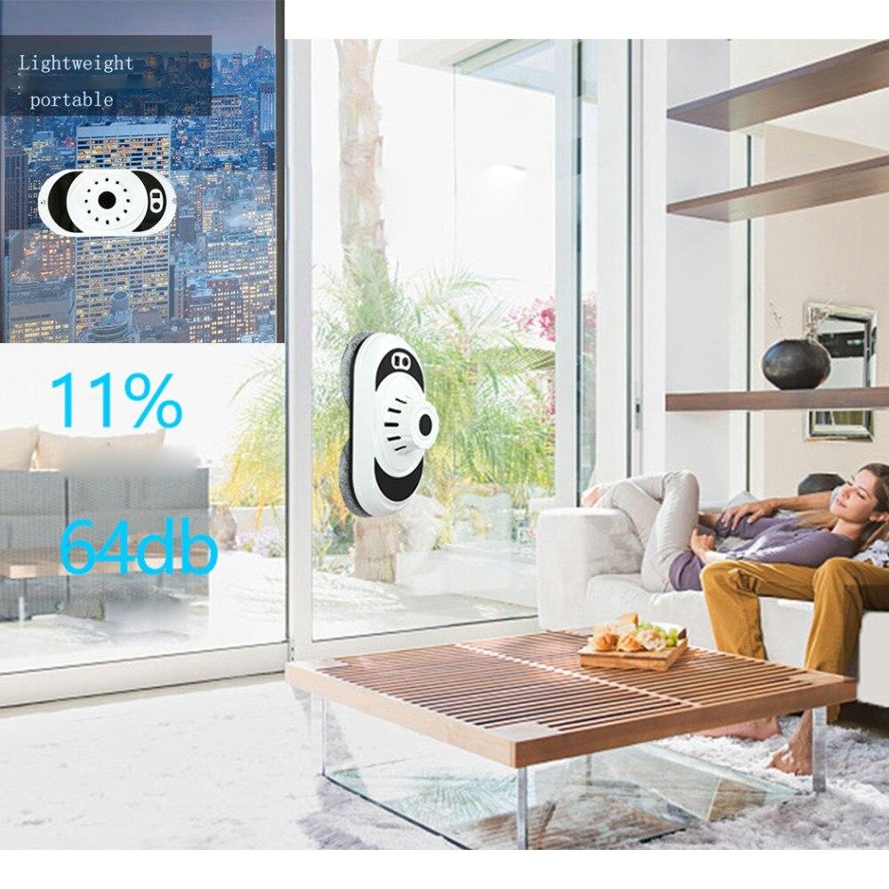 Robot de nettoyage de vitres de conception pratique 100-240 V usage domestique Anti-chute haute aspiration Robot nettoyeur de vitres Intelligent Machine