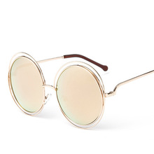 ce83fb21b4 Buy round wire frame sunglasses and get free shipping on AliExpress.com