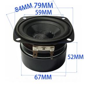 Image 5 - Tenghong 1pcs 3 Inch Fiberglass Full Range Speaker 4/8Ohm 15W Waterproof Audio Bookshelf Speaker Unit Home Theater Loudspeaker