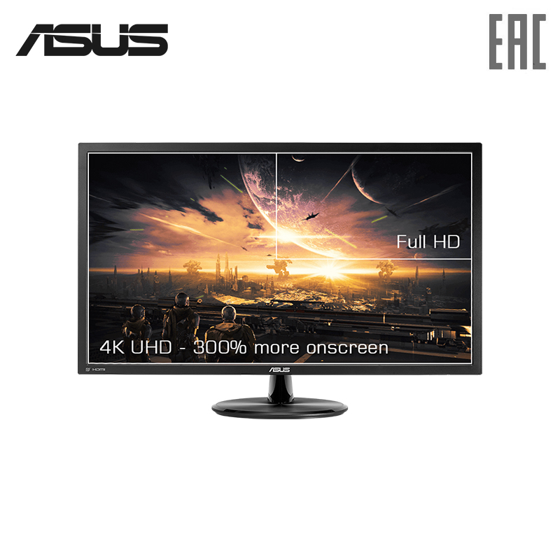 Фото - Gaming monitor Asus 28 VP28UQG 4K HDMI lcd monitor asus 32 pa329q