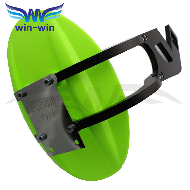 2017 Hot Motorcycle Accessories CNC Aluminum Mudguard Fender Rear Fender Perfectly fit for benelli BN300 BN600 BN 300 600 Green motorcycle front mudguard benelli blade bj150t 10c