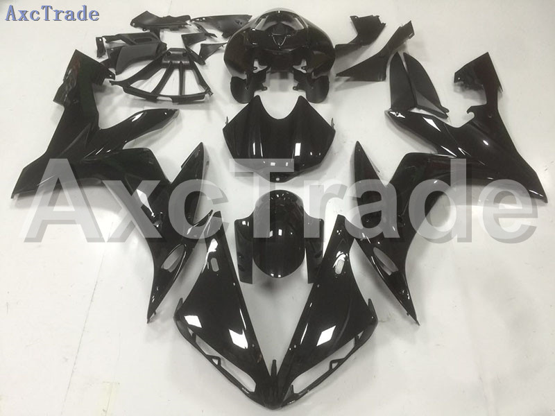 Motorcycle Fairings Kits For Yamaha YZF1000 YZF 1000 R1 YZF-R1 2004 2005 2006 04 05 06 ABS Injection Fairing Bodywork Kit Black custom road fairing kits for suzuki glossy flat black 2006 gsxr 1000 k5 2005 gsx r1000 06 05 motorcycle fairings kit